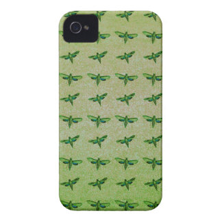 Butterfly green+blue iPhone 4 cases