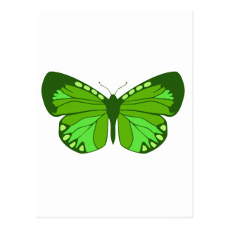 Butterfly Greens Postcard