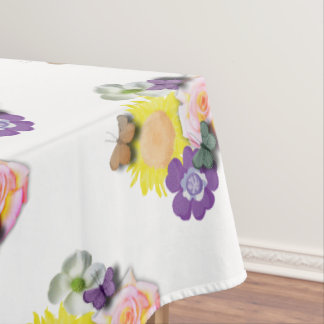 Butterfly hangout tablecloth
