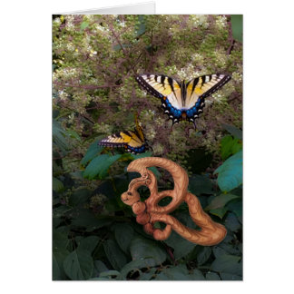 Butterfly-Happiness in Transformation Card
