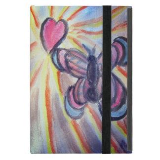 Butterfly heart iPad mini case