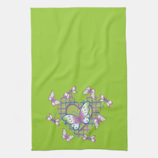 Butterfly Heart Hand Towels