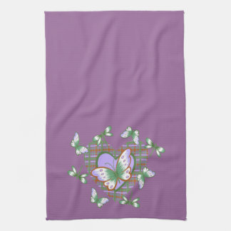 Butterfly Heart Towels