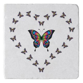 Butterfly Heart Trivet