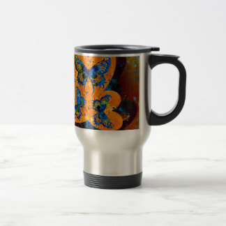 Butterfly Hearts Stainless Steel Travel Mug
