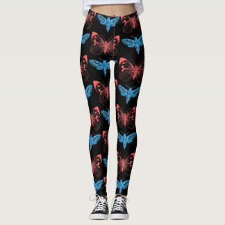 Butterfly Herbalist Leggings
