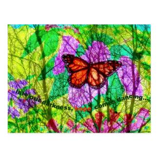 Butterfly hope postcard