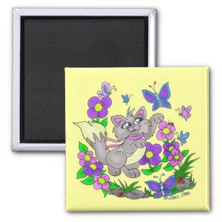 """Butterfly Hunter"" Magnet"