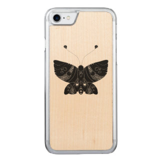 Butterfly II Carved iPhone 7 Case