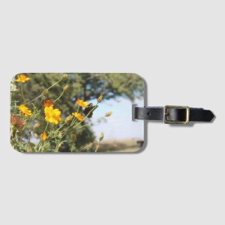 Butterfly II Luggage Tag