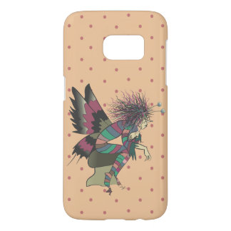 Butterfly Illustration Polka Dots Colorful Cute