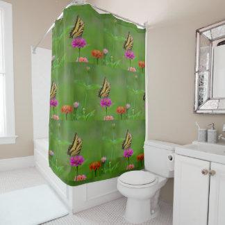 Butterfly In Garden Shower Curtain
