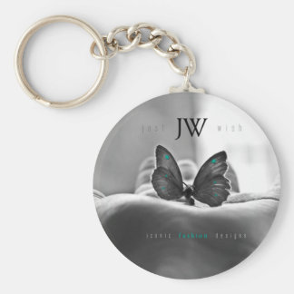 Butterfly in Hand Key Ring