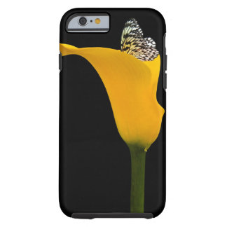 Butterfly in lily tough iPhone 6 case