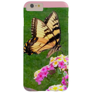 Butterfly in Pink Barely There iPhone 6 Plus Case