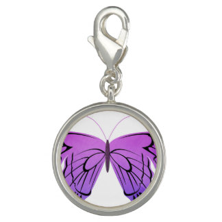 Butterfly in Shades of Purple