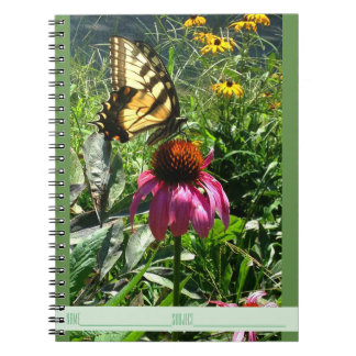 Butterfly in the Wildflower Garden Notebook