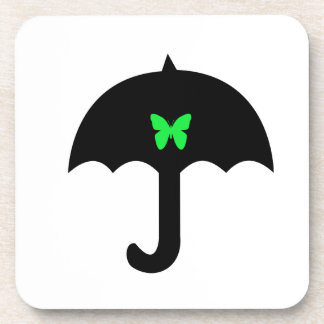 Butterfly in Umbrella Coaster