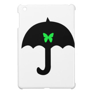 Butterfly in Umbrella iPad Mini Case
