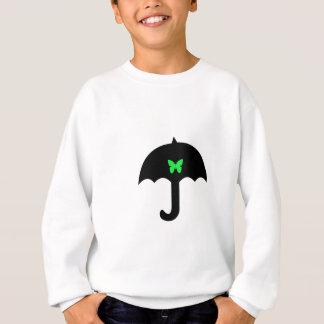Butterfly in Umbrella Sweatshirt