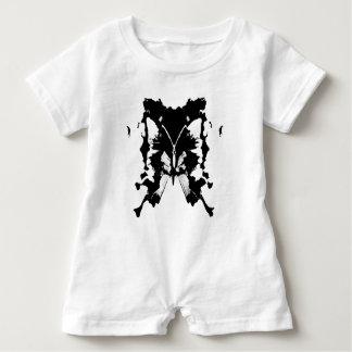 BUTTERFLY INKBLOT BABY BODYSUIT