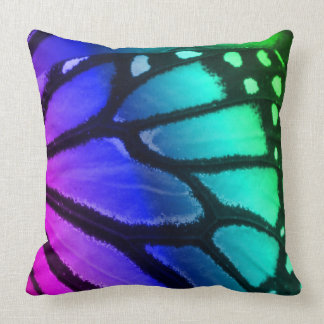 Butterfly Inspired Throw Pillow