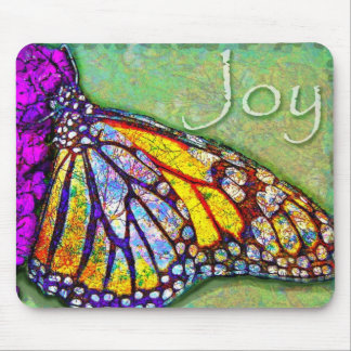 Butterfly Joy Mouse Pad