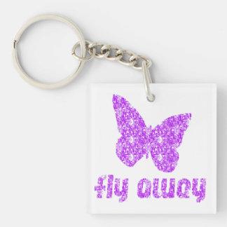 Butterfly Key-chain Acrylic Keychain