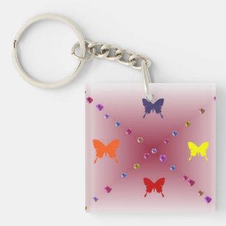 Butterfly Key Chain Acrylic Key Chain