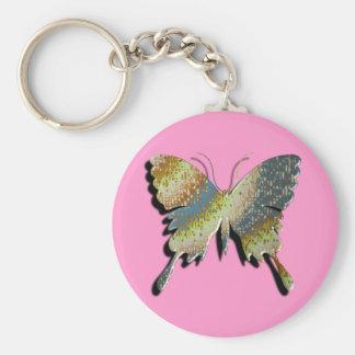 Butterfly Key Ring