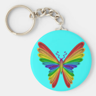 butterfly key ring keychains