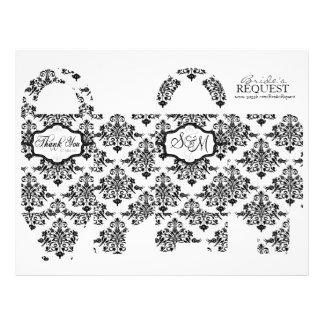 Butterfly Kisses Bold Favor Basket Template 2 21.5 Cm X 28 Cm Flyer