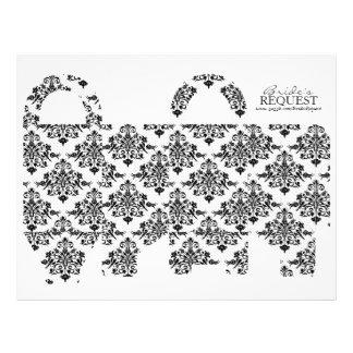 Butterfly Kisses Bold Favor Basket Template 3 21.5 Cm X 28 Cm Flyer