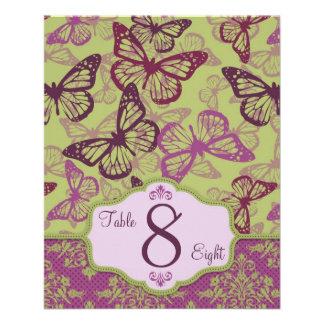 Butterfly Kisses Flirt Table Card B