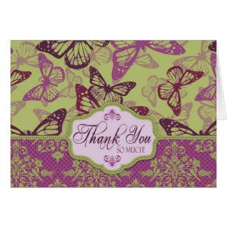 Butterfly Kisses Flirt TY Card