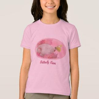 Butterfly Kisses for little girls T-Shirt