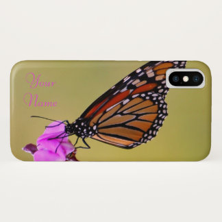 Butterfly Kisses iPhone X Case
