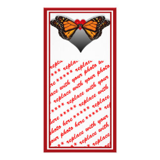 Butterfly Kisses Custom Photo Card