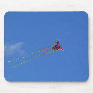 Butterfly kite Mousepad