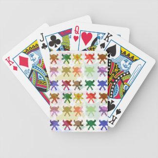 ButterFly Kite Pattern Poker Deck