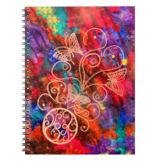 Butterfly Lace 6.5 x 8.75 Notebook