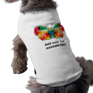 Butterfly - landscape template design dog clothing