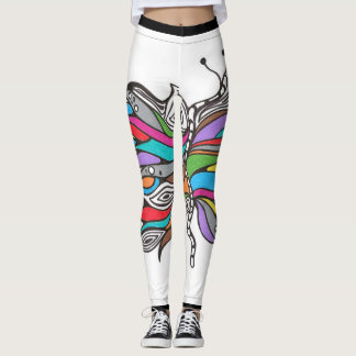 Butterfly leggings. leggings