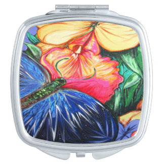 Butterfly Life Mirror For Makeup