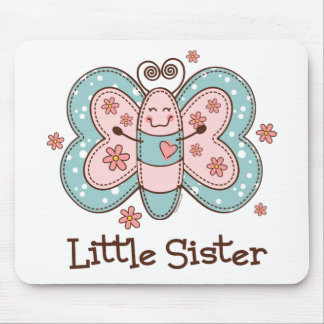 Butterfly Little Sister Mouse Pads