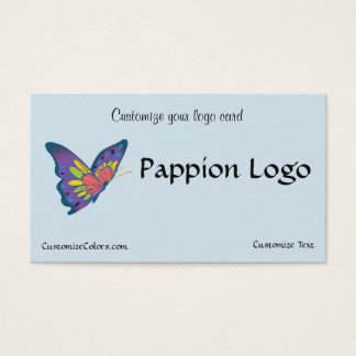 Butterfly Logo Business Card Template