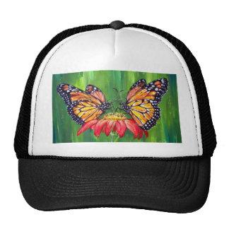 Butterfly love mesh hats