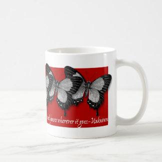 Butterfly/Love Coffee Mug