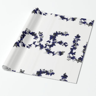 Butterfly Love Wrapping Paper