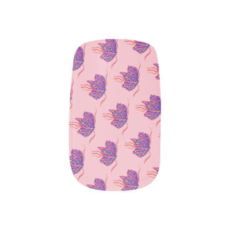 Butterfly Mabelle Minx Nail Art
